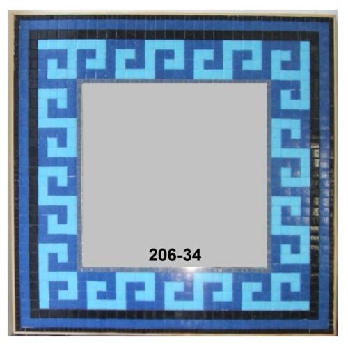 Blauer Mosaikspiegel Orientalisch S Mosaik Spiegel