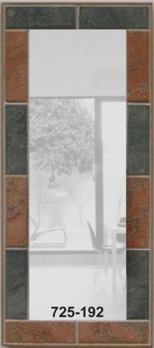 Spiegel rustikal naturt ne mosaik spiegel - Rustikaler spiegel ...